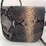Handmade leren saddle bag tas van Sanne Rose style Fredrika
